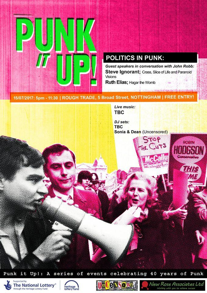 Punk it up poster politics
