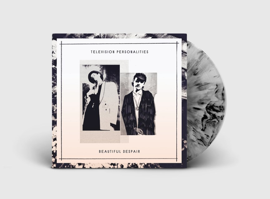 Television personalities beautiful despair marbled vinyl render
