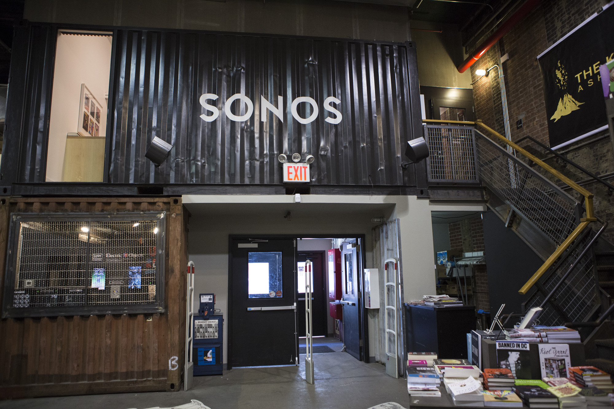 Sonos rt listening room exterior