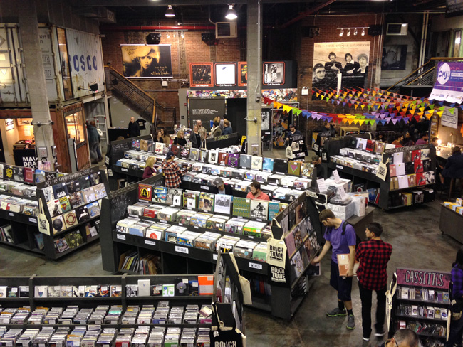Blog record stores nyc rough trade inside
